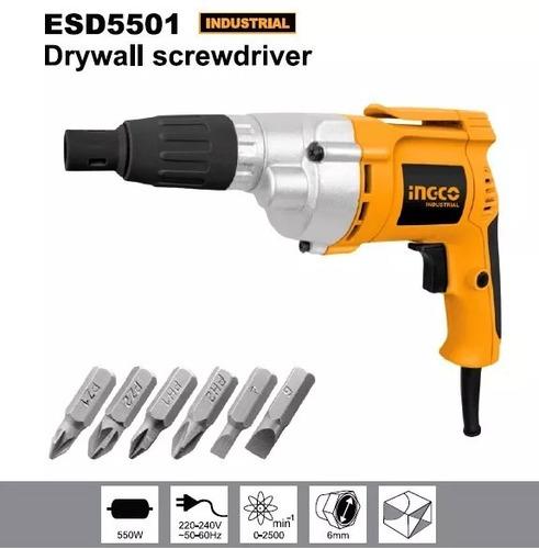 destornillador eléctrico 550w  marca  ingco