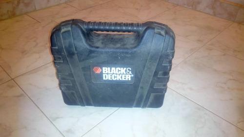 destornillador inalambrico black & decker+ maletín d piezas