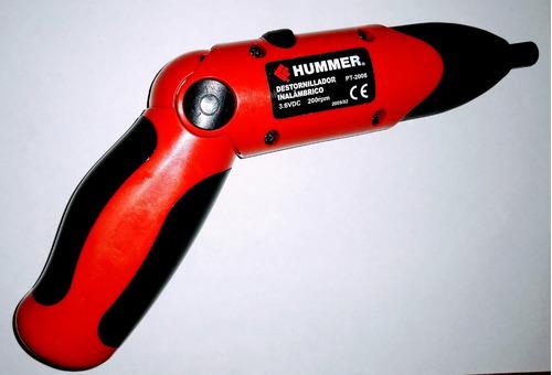 destornillador inalámbrico hummer