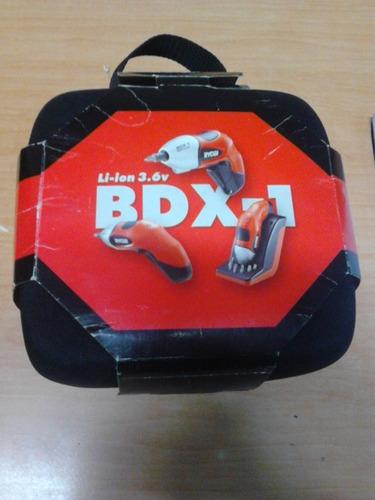 destornillador inalámbrico ryobi bdx-1