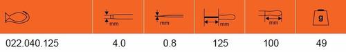 destornillador plano recto 022.040.125 bahco