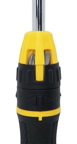 destornillador ratchet con 10pzs stanley 68-010