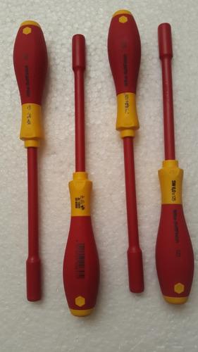 destornilladores copa wiha aislado 9mm, 8mm y 6mm precio c/u