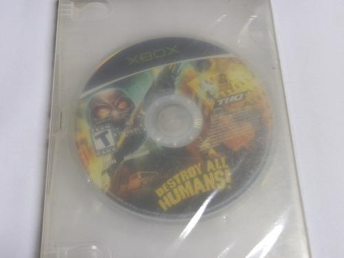 destroy all humans xbox original usado