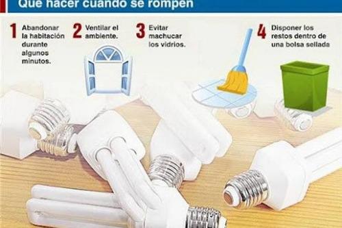 destrucción y reciclado de luminarias fluorescentes mercurio