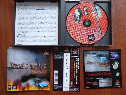 destruction derby playstation 1 ps1 zonagamz japon