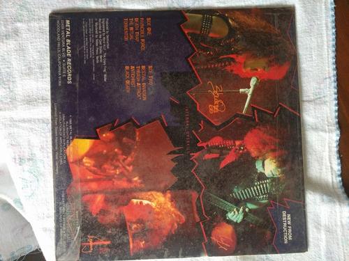 destruction infernal overkill edición 1985 importado