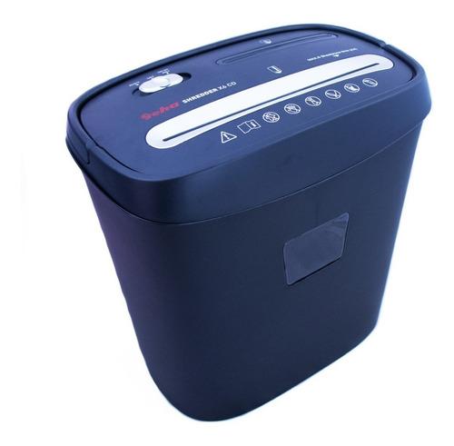 destructora o picadora de papel cd x 6 geha hogar & oficina