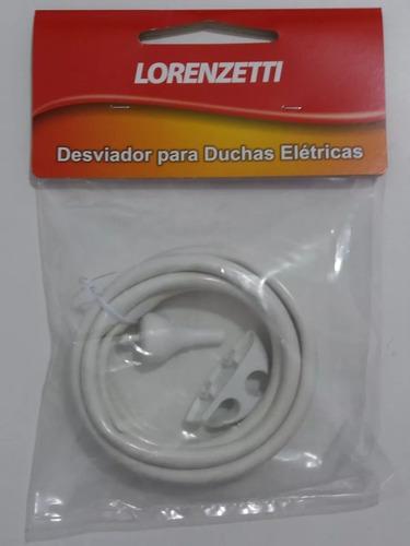 desviador completo p/ duchas elétricas lorenzetti mangueira
