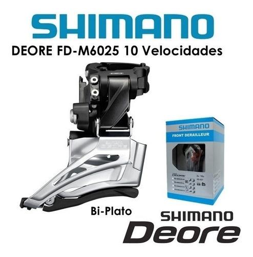 desviador delantero shimano deore fd-m6025 - 2x10