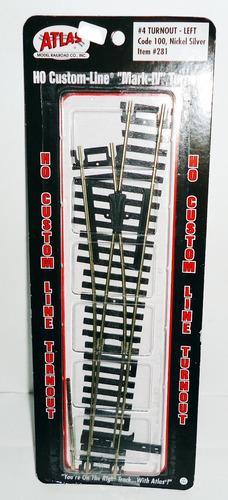 desvio izquierdo - atlas h0 model raiload