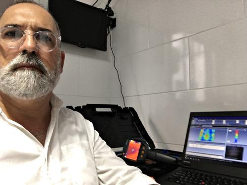 detección de fugas de agua   calefacción   termografía