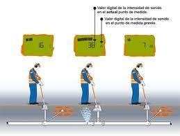 detección de fugas de agua con equipos electrónicos