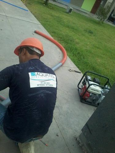 detección de fugas no visibles de agua geofono alto consumo