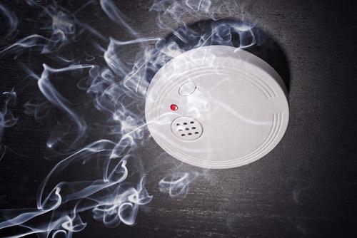 detección de incendios.