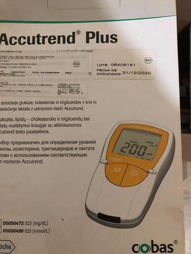 detecta glucosa, colesterol y triglicéridos