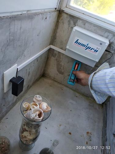 detectar o detección pérdidas de agua - humedad (sin romper)