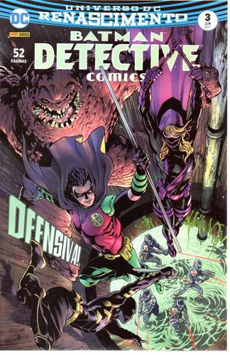detective comics 3 renascimento - panini bonellihq cx279 e18