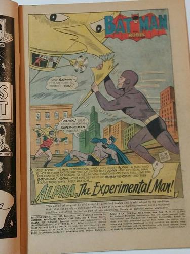 detective comics vol 1 no. 307 1962 vintage batman
