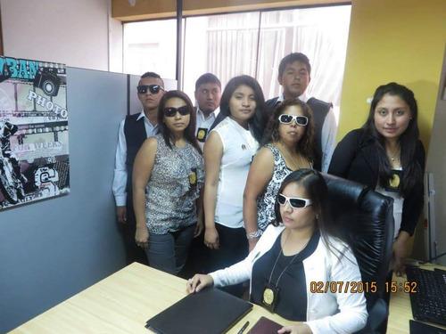 detectives privado escuadron femenino fenix del peru