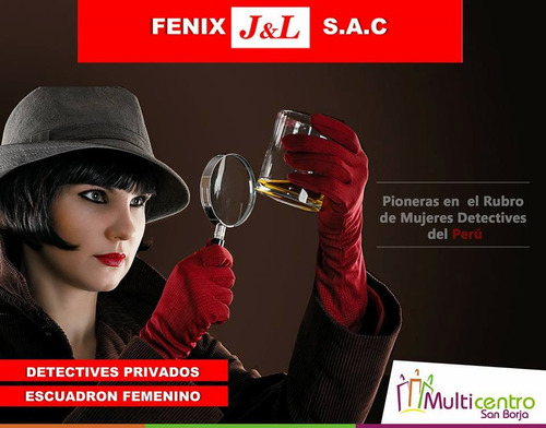 detectives privados femeninos fenix j&l sac