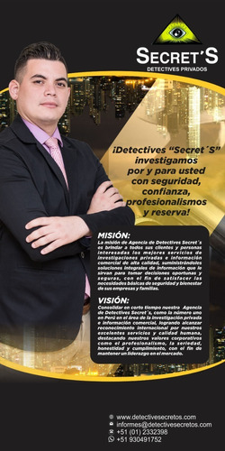 detectives privados secretos internacional eirl