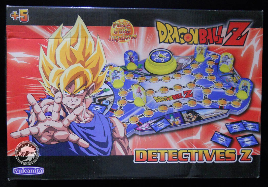 Detectives Z Juego De Mesa Dragon Ball Z Enderjuegos 500