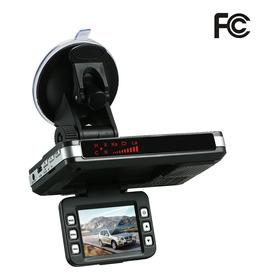 Detector Anti-radar Car Dvr 2 Em 1 720p Dash Cam Radar