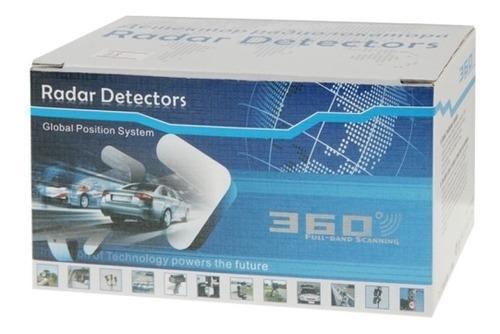detector anti radar laser barrido de radares de velocidad