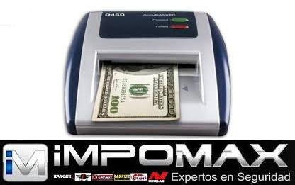 detector automatico billetes falsos d450 accubanker banco us