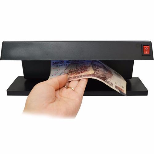 detector billetes falsos 2 lamparas luz uv deteccion exacta