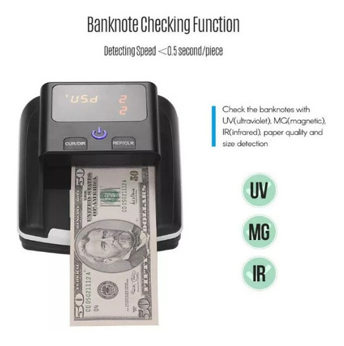 detector billetes falsos
