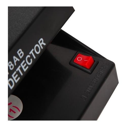 detector billetes falsos dinero uv 4w 220v pesos dolares