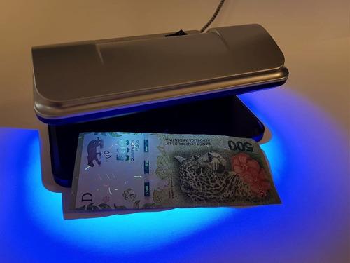 detector billetes falsos portatil dasa 15w -led usb- uv pesos dolares cable usb