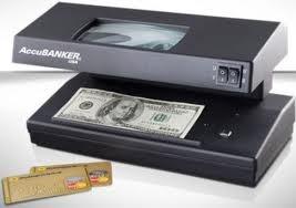 detector billetes falsos uv mg ma d66 accubanker banco local