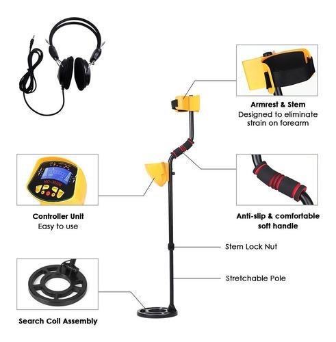 detector buscador de metales alto rendimiento sensibilidad