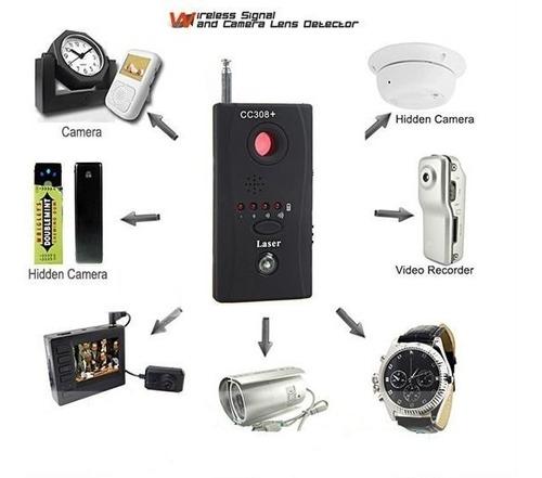 detector cámaras y micrófonos espías profesional r f -2020