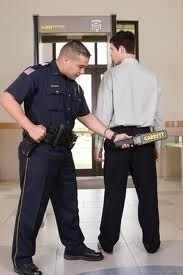 detector de armas y metales super scanner, toletes, esposas