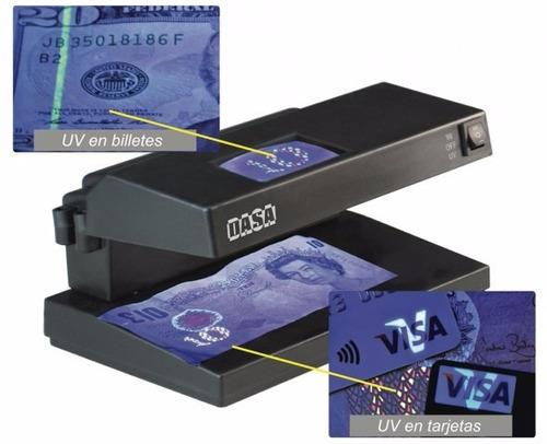 detector de billetes falsos 100,200,500,1000 -3 funciones