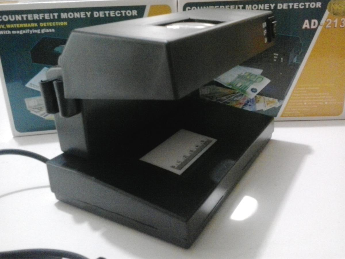 Detector de billetes falsos con luz ultra violeta s 48 - Detector de luz ...