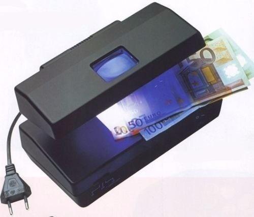 Detector de billetes falsos luz blanca ultravioleta y - Detector de luz ...