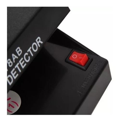 detector de billetes falsos luz ultravioleta / factorynet