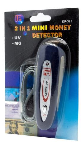 detector de billetes falsos portatil luz uv banda magnetica