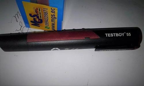 detector de gas a batería marca testboy.