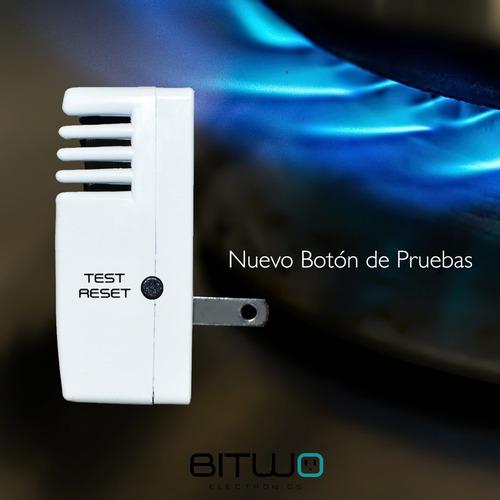detector de gas lp natural humo y monoxido de carbono bitwo