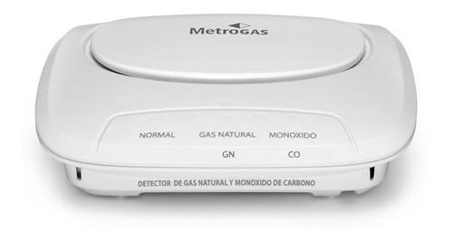 detector de gas y monóxido de carbono