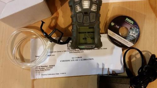 detector de gases msa