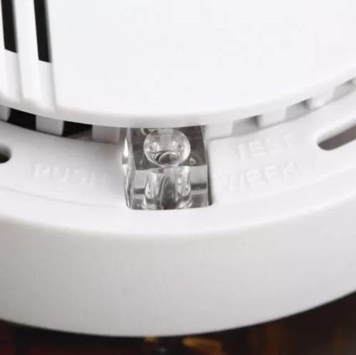 detector de humo alarma de incendios inalambrico seguridad