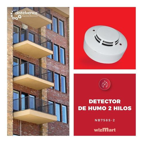 detector de humo fotoelectrico 2 hilos wizmart nb758s-2