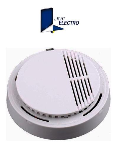 detector de humo fotoelectrico con buzzer automático